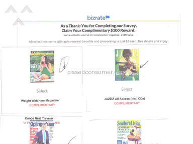Magazine Outlet - Bizrate - As a Thank You - Claim your complimentary $100 Reward.
