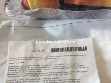 FLORYDAY Footwear and Clothing review 609569