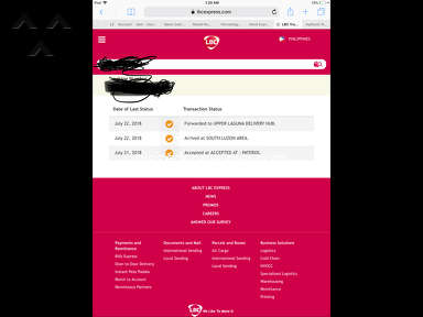 LBC Express - My item is delayed for about 1 month now