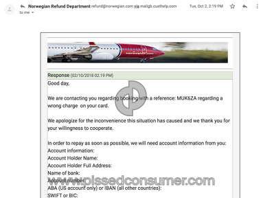 Norwegian Air Shuttle Asa Transport review 344490