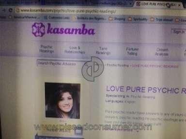 Kasamba Psychic Reading review 35507