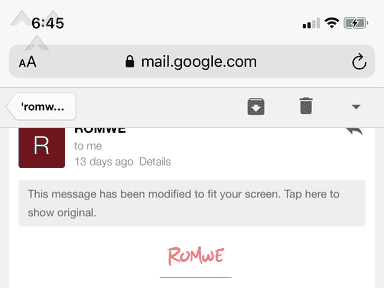 Romwe Website review 567791