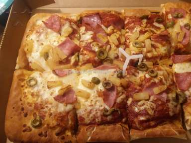 Pizza Hut - The worst pizza I have ever ordered