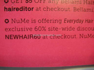 NuMe - Coupon Codes Too Good to Be True!