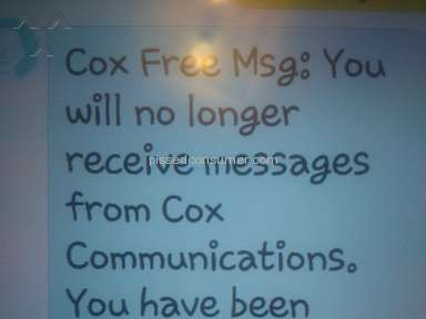 Cox Communications - VERY ANGRY  FEMALE