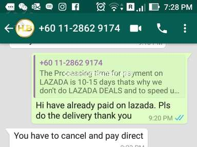Lazada Malaysia Auctions and Marketplaces review 497557