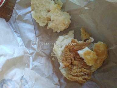 Arbys - Chicken Biscuit Review from Hayfork, California
