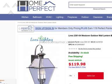 Home Perfect Shopping Advertisement review 259794