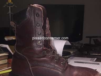 Red Wing Shoes - USA BUILT REDWING LEATHER WORK BOOTS QUALITY IS POOR!
