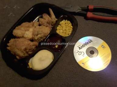 Hungry Man Frozen Dinners - HUNGRY MAN MEAL - CORN IN MY BROWNIE!!!!!!!!!!