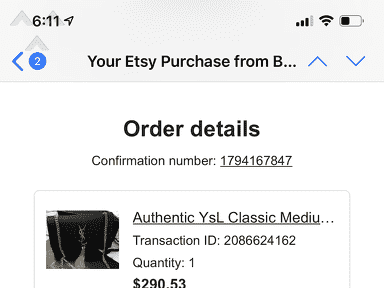 Etsy Customer Care review 794592