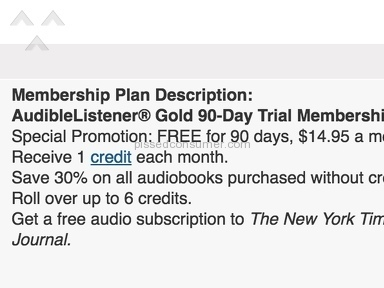 Maybe Prime & Audible duped you to?