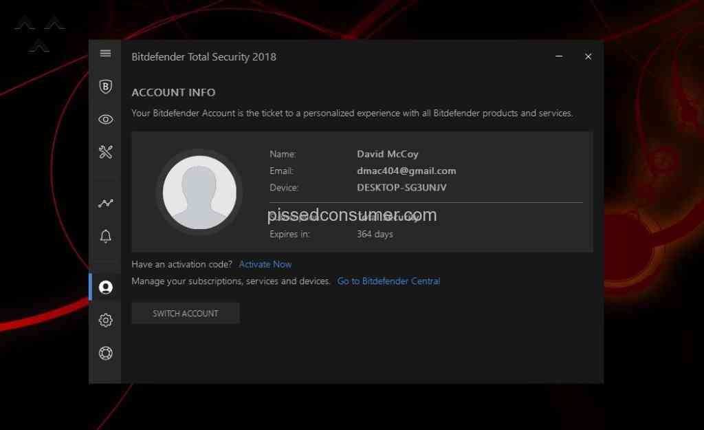204 Bitdefender Reviews and Complaints @ Pissed Consumer