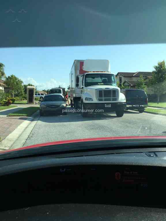 Hudsons furniture vehicle driver review from orlando for Hudsons furniture