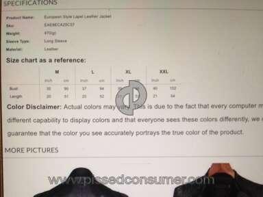 Fashionmia Jacket review 108693