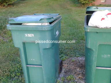 Wca Waste Corp - NO TRASH PICK UP IN A WEEK