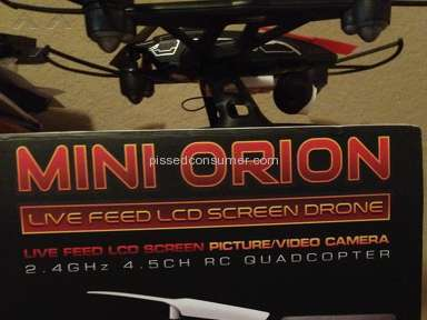 World Tech Toys - Mini Orion  Defective out of the box