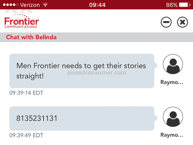 Frontier Communications Customer Care Review