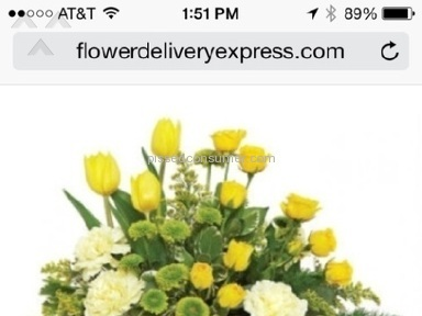 Flower Delivery Express Flowers review 60033