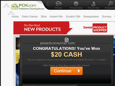 Publishers Clearing House - $20 Real PCH Winner Jun 17, 2019