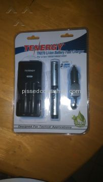 Tenergy Battery Charger