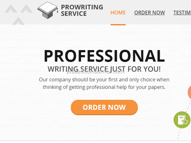 Thank you very much Prowritingservice.com!