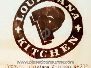 Popeyes Louisiana Kitchen 11-piece Bonafide Combo Meal review 136479