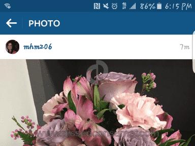 Avasflowers Arrangement review 118553
