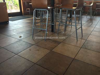Taco Bell Chino Hills Filthy Dirty Place Employee Yelling