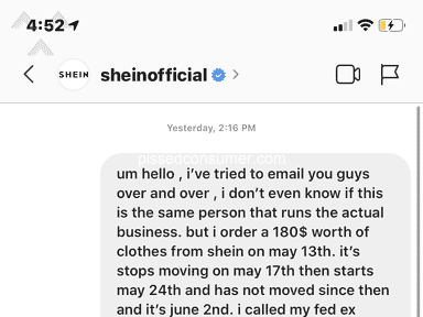 Shein Shipping Service review 623612