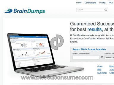 Braindumps Software review 21377
