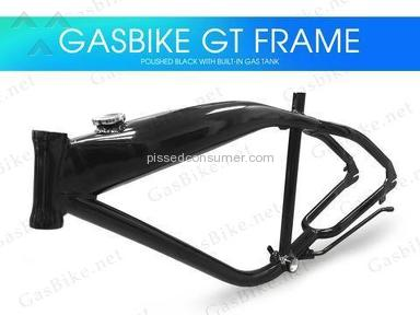 Gasbike - Will not refund my money.