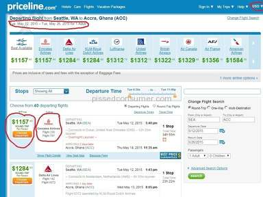 Priceline - Currency Switch Sneaky!