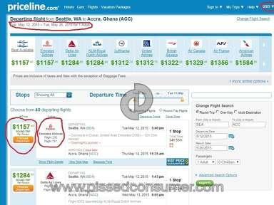 Priceline Travel Agencies review 57477
