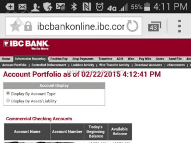 IBC Bank - Account Access Review from Santee, California