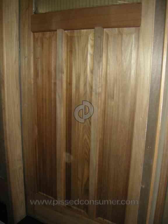 Lemieux Door - Torrified Door Inferior Product & 3 Lemieux Door Reviews and Complaints @ Pissed Consumer