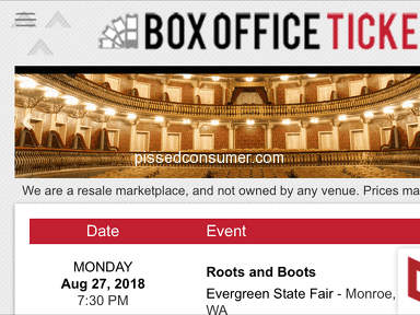 Box Office Tickets - They can just say that they sent you an email with your tickets !!!