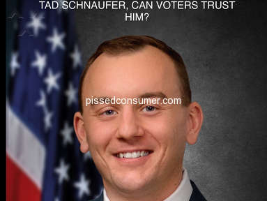 VoteTad - VOTERS BEWARE! TAD SCHNAUFER PADDED HIS RESUME ON EDUCATION & EXPERIENCE, WHAT ELSE ARE GOING TO FIND ?????