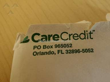 CareCredit - Locked out of GE Captial's [Care Credit] website!