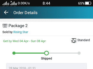 Lazada Philippines Shipping Service review 282718