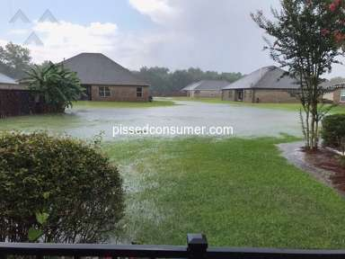 No help from DR Horton for well-know yard flooding problem
