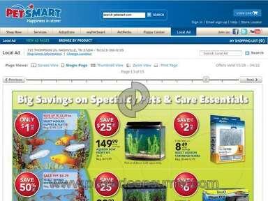 Petsmart Pet Stores review 6997