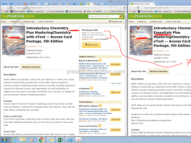 Pearson Education - Terrible customer service concerning Pearson Introductory Chemistry textbooks
