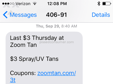 Zoom Tan - Coupon Review from Jamestown, New York