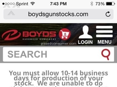 Boyds Gunstocks - Gun Stock Review from Cheektowaga, New York