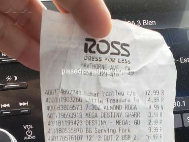 Ross Dress For Less Footwear and Clothing review 335942
