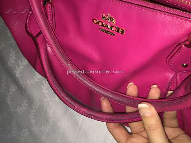 Coach Handbag Review from Virginia Beach, Virginia