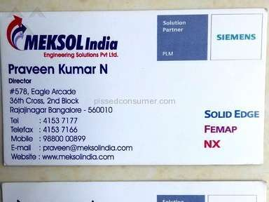 Meksol India Course review 127709