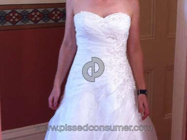 Dressilyme Wedding Dress review 153634