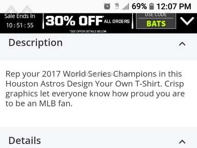 Mlb Shop - Item Description Wrong/No Refund